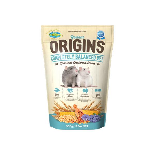 Vetafarm Rodent Origins Rat & Mouse Food 350g 1