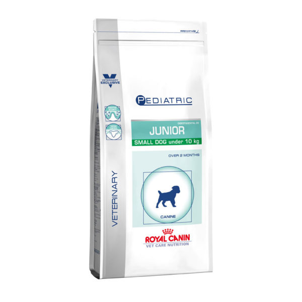 Royal Canin Vet Care Nutrition Paediatric Junior Small Dog 2kg 1