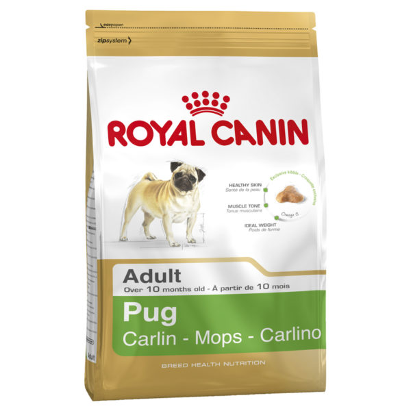 Royal Canin Breed Health Nutrition Pug Adult 3kg 1