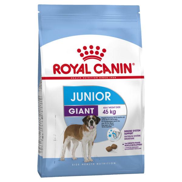 Royal Canin Size Health Nutrition Giant Junior 15kg 1