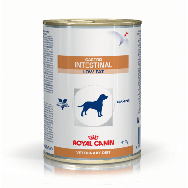 Royal Canin Vet Diet Canine Gastro Intestinal Low Fat 410g x 12 Cans 1