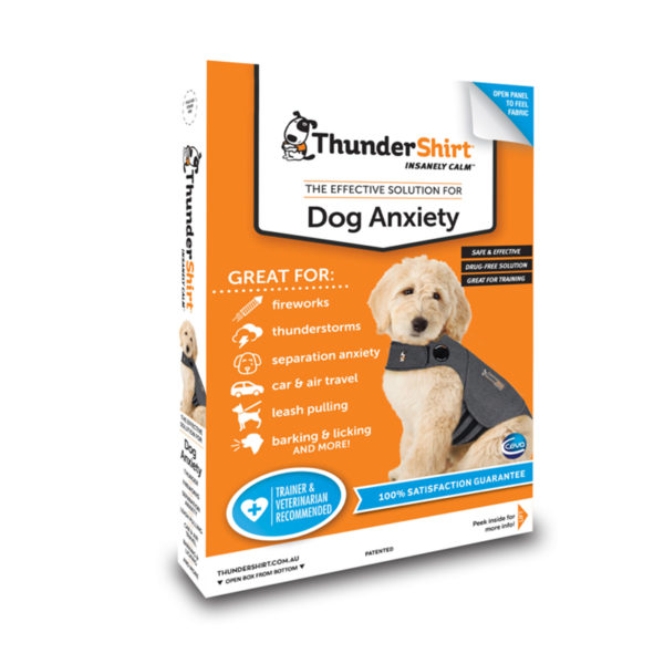 ThunderShirt Dog Anxiety Vest Heather Grey Small 1