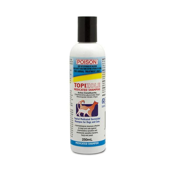 Topizole Medicated Shampoo 250ml 1
