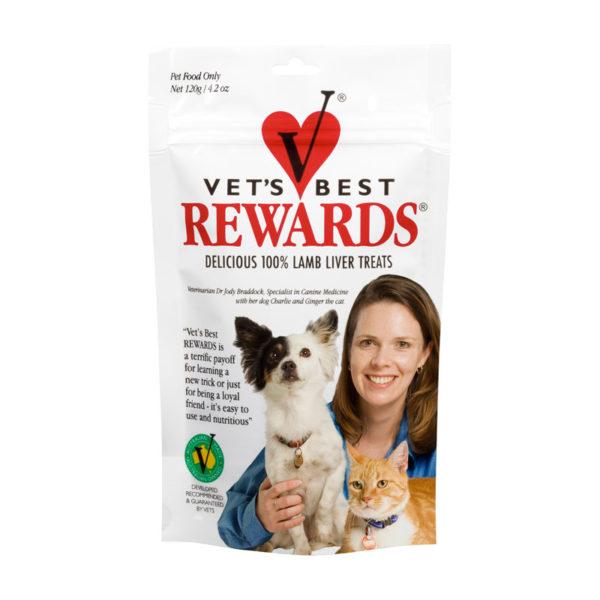 Vet's Best Rewards Lamb Liver Treats 120g 1