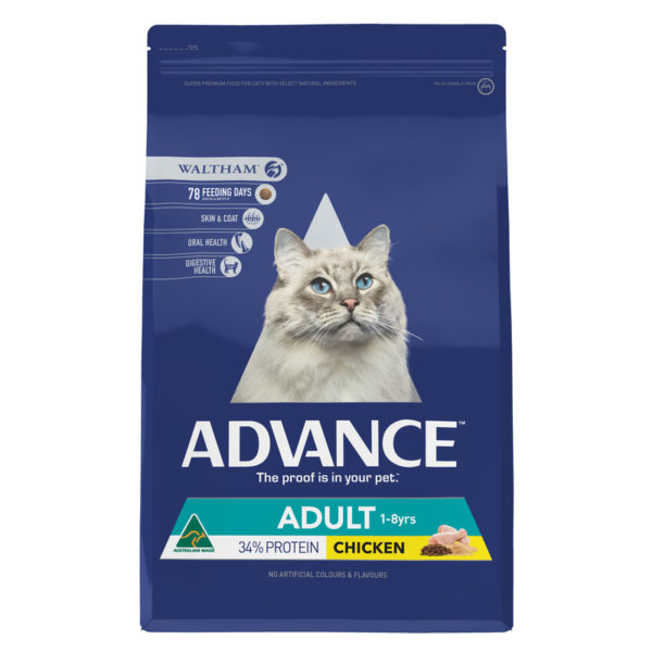 Advance Adult Cat Total Wellbeing Chicken 3kg 1