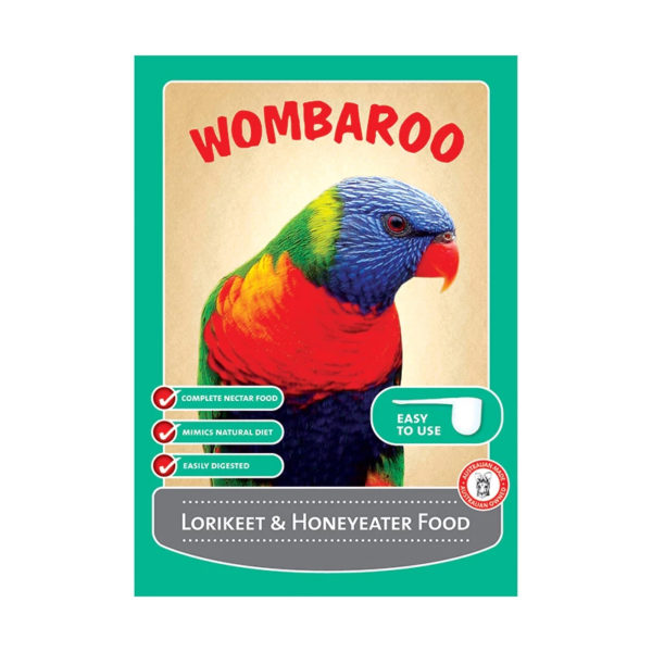 Wombaroo Lorikeet & Honeyeater Food 9kg 1