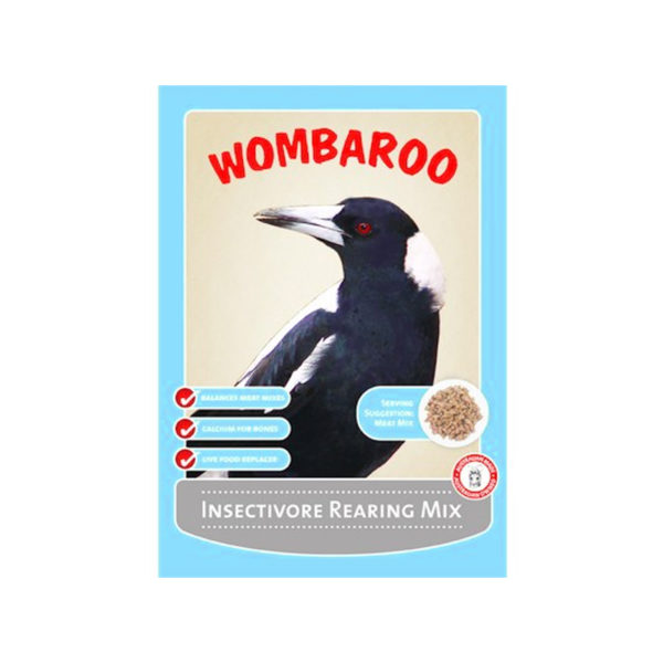 Wombaroo Insectivore Rearing Mix 1kg 1