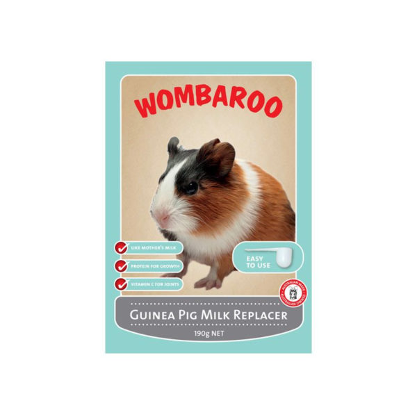 Wombaroo Guinea Pig Milk Replacer 190g 1