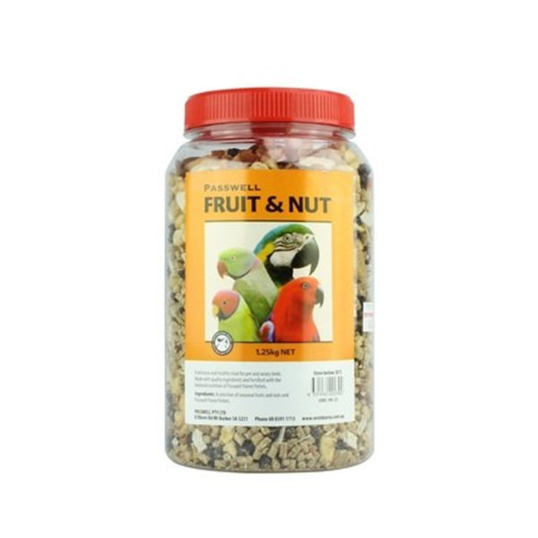 Wombaroo Fruit & Nut Bird Treat Mix 1.25kg 1